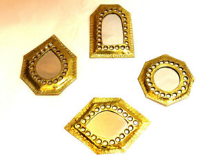 Small Beautiful Mirror Brass Moroccan Handmade Wall Decor Pocket Nice Gift