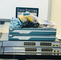 Advanced Cisco CCNA V3 and CCNP home lab kit Router IOS 15