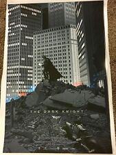 The Dark Knight Rare Mondo Poster  Laurent Durieux Regular #329/425 Batman NYCC