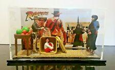 Indiana Jones Raiders of The Lost Ark Cairo Swordsman Custom Display Print ROTLA