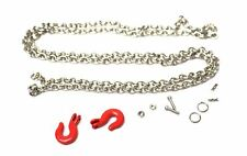 Racers Edge - 1/10 Scaler Tow Hooks and Chain Set