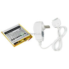 Replacement Battery+Wall Home CHARGER for Apple iPod Nano 3rd GEN 8GB 100+SOLD