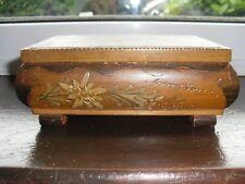 "Vintage REUGE ""STE-CROIX"" Musical Jewellery Box, c1950-60's, City Scene"