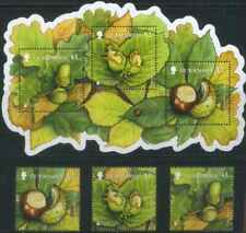 Guernsey 2011 Europa CEPT, Forests, Nuts MNH**