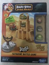 "Angry Birds Star Wars ""Tatooine"" battle Jenga game NIB"