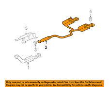 pontiac gm oem 05-08 grand prix 5 3l-v8-muffler 25794074 (fits: pontiac  grand prix)