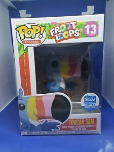 Toucan Sam #13 Funko Shop Exclusive Ad Icons with PoP Protector New Froot Loops