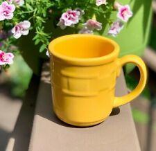New ListingLongaberger Pottery Mug Sunflower Yellow - Retired!
