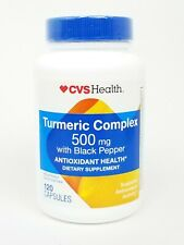 CVS Health Turmeric Complex 500 MG With Black Pepper 120 Capsules
