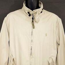 Polo Ralph Lauren Harrington Jacket Vtg 90s Bomber Reinforced Elbow Mens XL
