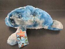 "Floppy Under the Sea Friends Manatee 10"" Blue Camo Destin, Florida Plush Toy"