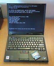 2003 Ibm ThinkPad T42 Type 2374 Intel Pentium M 1.70Ghz 1Gb Ram, no Hdd, Tested