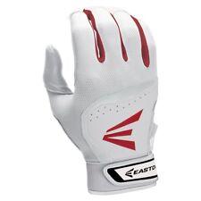 Easton HS7 Batting Gloves Men's M White/Red/Black
