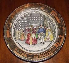 RARE ROYAL DOULTON SERIESWARE PLATE - 1915 - OLD MORETON HALL