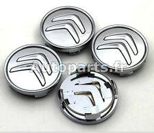 4 X Caches Jante moyeux - Centre de roue - Citroen C1 C2 C3 C4 C5 C8 59mm