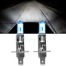 2Pcs Super Bright White H1 12V 100W Halogen Head Light Lamp Bulb Auto Car New