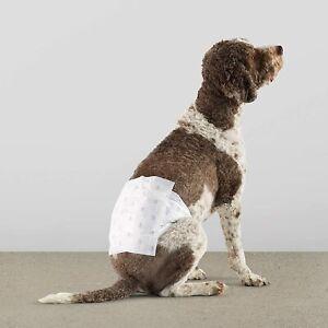 "Male Dog Wrap Pet Diapers Leak Proof Disposable Large 23.5-31.5"" Waist 30 Pieces"