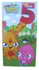 Moshi Monsters card for age 5 (FIVE) by Gemma with a badge - 195705
