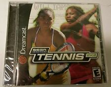 NEW Factory Sealed  SEGA SPORTS TENNIS 2K2  for the Sega Dreamcast System 2002