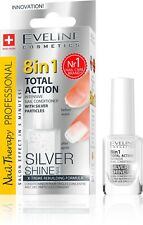 Eveline Cosmetics Total Action 8in1 Nail Therapy and Conditioner (Silver Shine)
