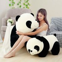 Cute Baby Big Giant Panda Bear Plush Stuffed Animal Doll Animals Toy Pillow Cart