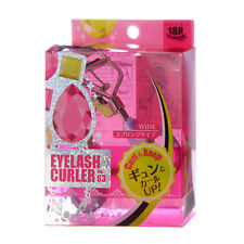 [KOJI] No 63 Wide 18R Curl & Keep Eyelash Curler With One Refill Pad JAPAN NEW