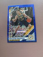 2019/20 Panini Donruss Optic Basketball: Malcolm Brogdon Blue Prizm