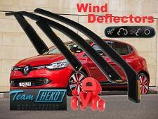 RENAULT CLIO IV  2012 -  5.doors Wind deflectors 4.pc set HEKO 27184