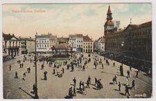 Belgium postcard - Place d'Armes, Ostende - P/U 1907