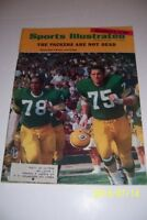 1968 Sports Illustrated GREEN BAY Packers BROWN GREGG Packers NOT DEAD YET
