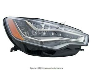 AUDI A6 QUATTRO (2012-2013) Headlight Assembly (LED) RIGHT / PASS SIDE HELLA OEM
