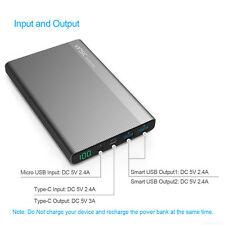 20000mAh vinsic Power Bank Cargador de bateria externa USB de alta capacidad