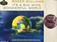 ROGER WILLIAMS it's a big wide wonderful world HA-R2105 original uk mono 1958 LP