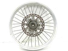 "1989 Suzuki RM125 21"" Front Wheel, Front Rim, Hub, OEM, 89 RM 125 B4166"
