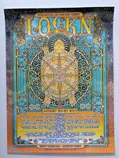 Grateful Dead & Co Lockn 2016 John Werner poster 8/24-27/2017 Panic Weir Lesh
