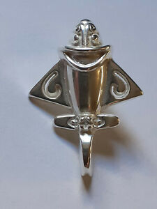 ANCIENT ALIENS, ANCIENT ASTRONAUT, JET FLYER, LAPEL PIN, 925 STERLING SILVER (9)
