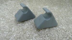 DODGE Sun Visière Hold support couleur gris Pack de 2