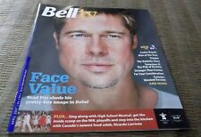 "BELL TV MAGAZINE BRAD PITT IN ""BABEL"", THE SOPRANOS - APRIL 2007 Vol 3, #4"