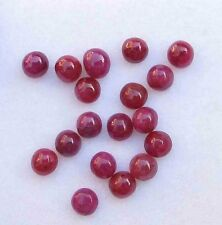 12.70 CT Natural Loose Ruby Lot Round Non-treated Cabochon For Setting