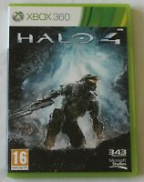 XBOX 360 Game Halo 4 Bungie PAL - 2 Discs/Manual - Worldwide Shipping