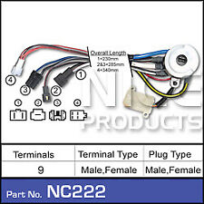 Nice Products Ignition Switch Ford Laser KA KB, Meteor GA GB NC222