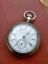 - Railroad Grade - Pocket Watch Antique 18S Hampden 17 Jewel Special Adjusted