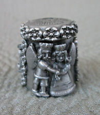 Nicholas Gish Pewter Limited Edition Fairy Tales Thimble #3021