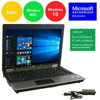 HP Laptop Notebook PC Windows 10 Intel Core Duo 2GB 14.1 Screen HD DVD Win 10 32