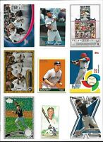 ALEX RIOS (BLUE JAYS / WHITE SOX) - 100 BASEBALL CARD LOT W/INSERTS/PARALLELS