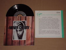 """Neneh cherry-Inna city Mamma - 7"""" with product facts Promo Flyer"""