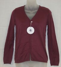 PETIT BATEAU Women's Purple Cardigan 61784 Sz 14 Years S $90