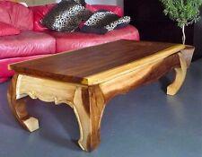Opiumtisch Holz,120x60x40cm, massiv, Couchtisch, Beistelltisch, Sofatisch, Tisch