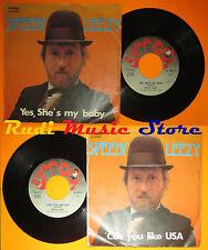 LP 45 7'' SPEEDY LEEZY Yes she's my baby 'Cos youlike usa italy SYMBA cd mc dvd*