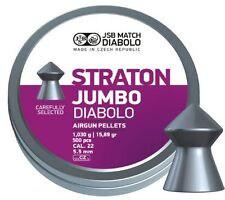 JSB EXACT .22 STRATON POINTED HUNTING PELLETS FT HFT